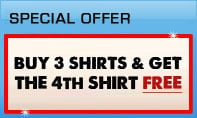 4 For 3 Shirts Offer