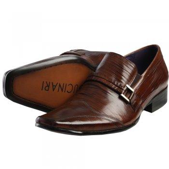 Men's Footwear AB128-10PL Slip On Creased Shoe