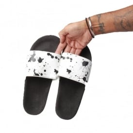 Religion Paint Splash Slider Sandals