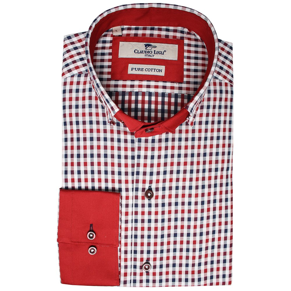 Buy Designer Shirts For Men Online Buy Check Shirts For Men