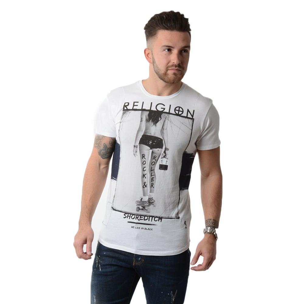 buy religion t shirts religion b2116rrf07 t shirt. Black Bedroom Furniture Sets. Home Design Ideas