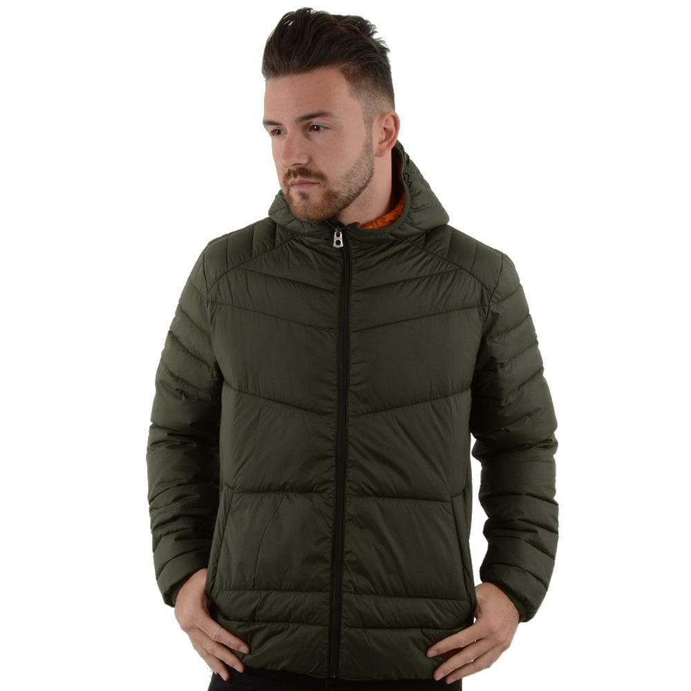 buy jack jones jackets cbmenswear jack jones classic puffer jacket. Black Bedroom Furniture Sets. Home Design Ideas