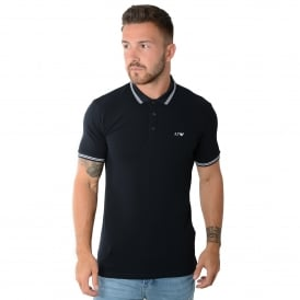 Armani Jeans | 8N6F30 Twin Tipped Half Sleeve Polo T-Shirt
