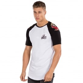 Bee Inspired Rasen BI 371 Raglan T-Shirt - White