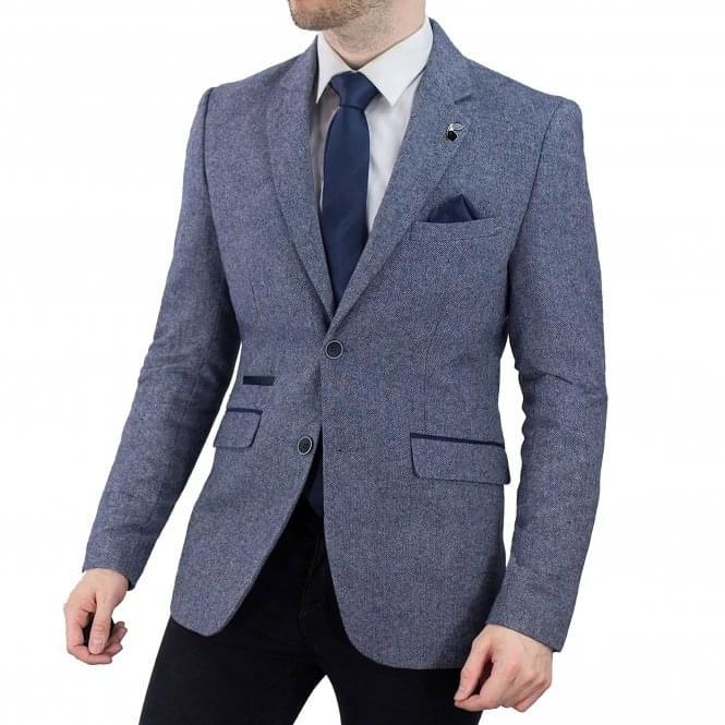 Cavani | Scott Blazer - Blue