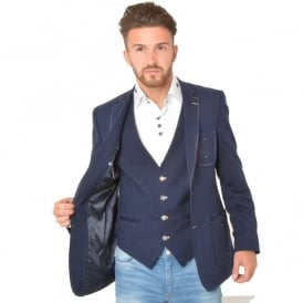 Claudio CL 1051-A Blazer And Waistcoat