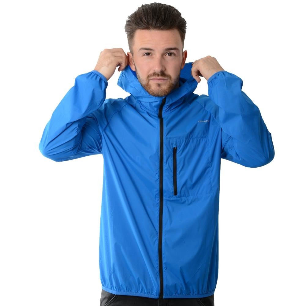 blue converse jacket