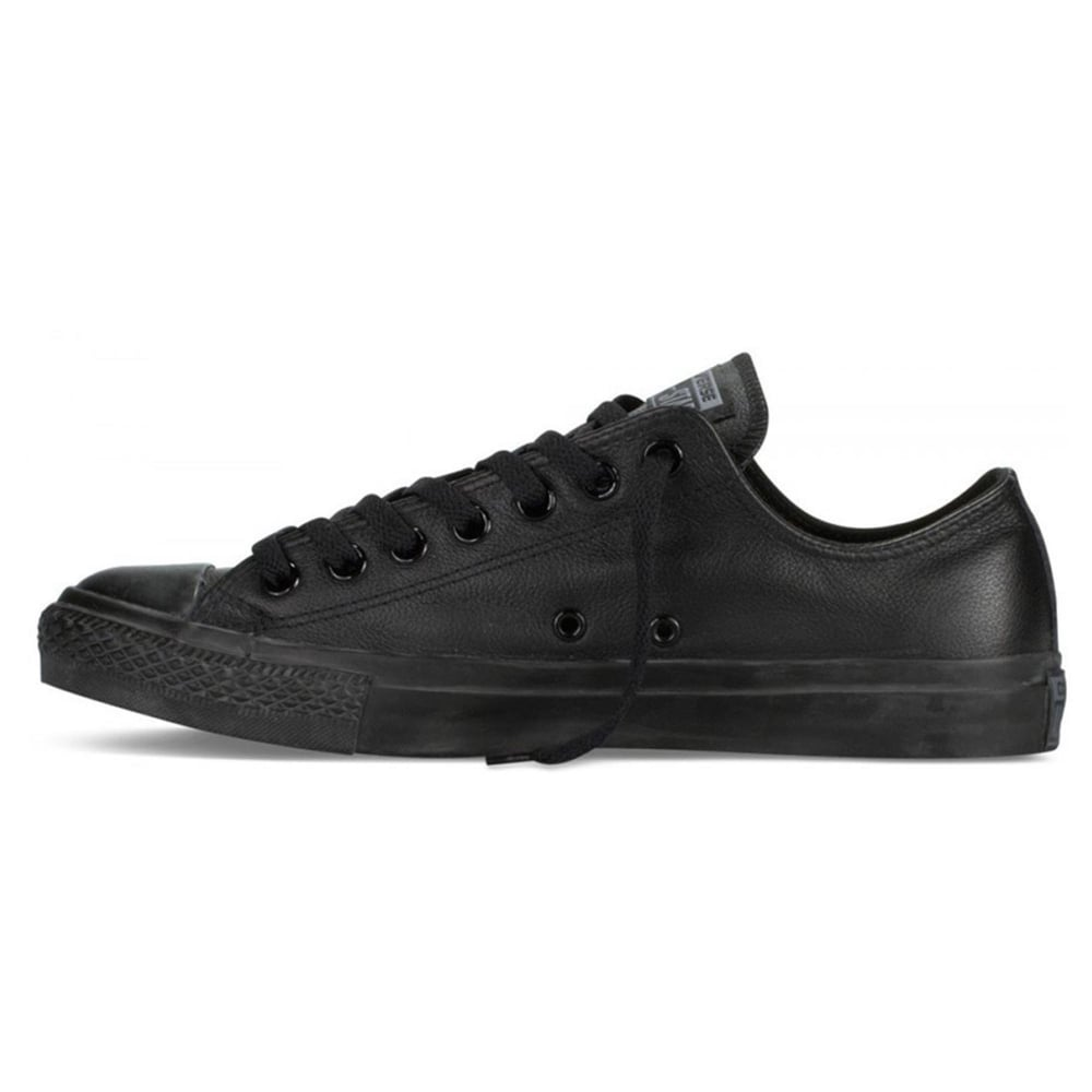 c2047c2989c9 Converse 135253C All Star Leather Ox Trainer - Black