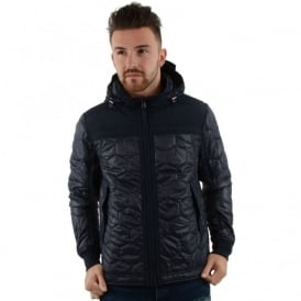 Duck And Cover 1K0010 Axis Hooded Terrace Jacket - Navy
