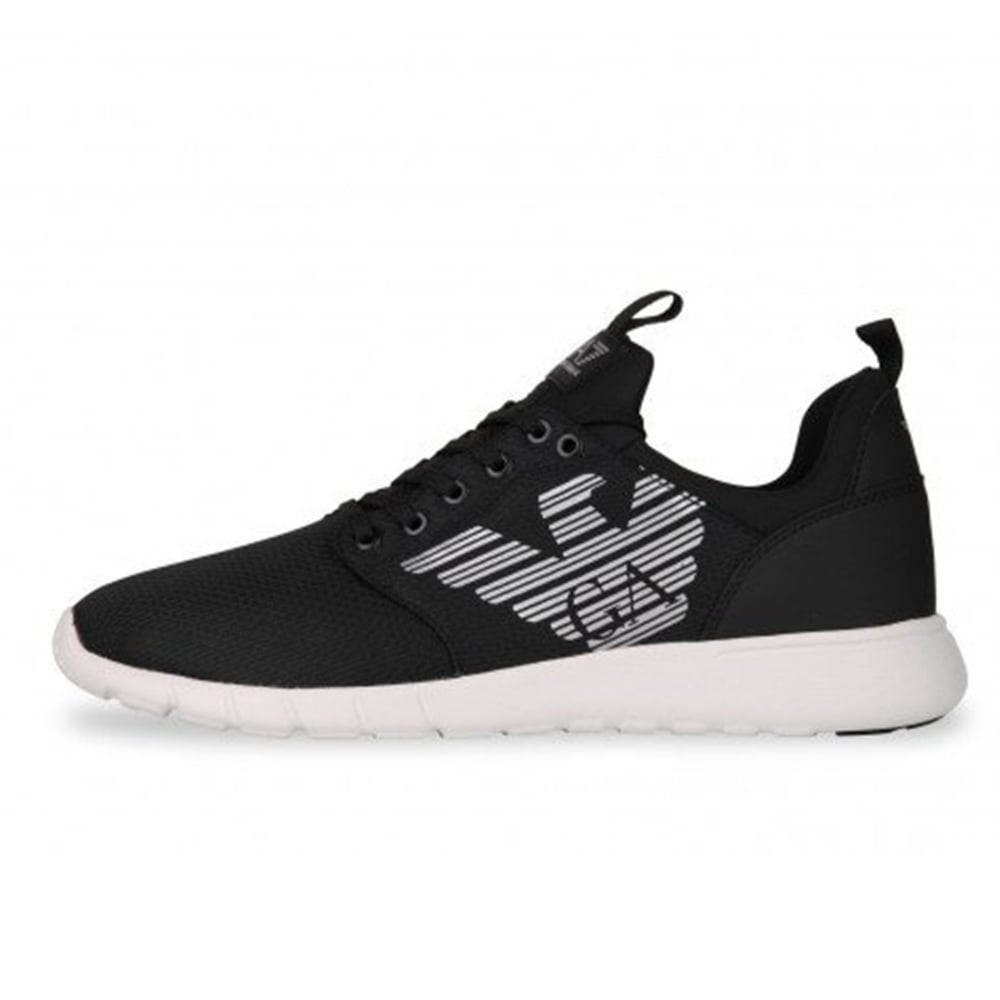 ea7 black trainers outlet store 7f99f 96a02