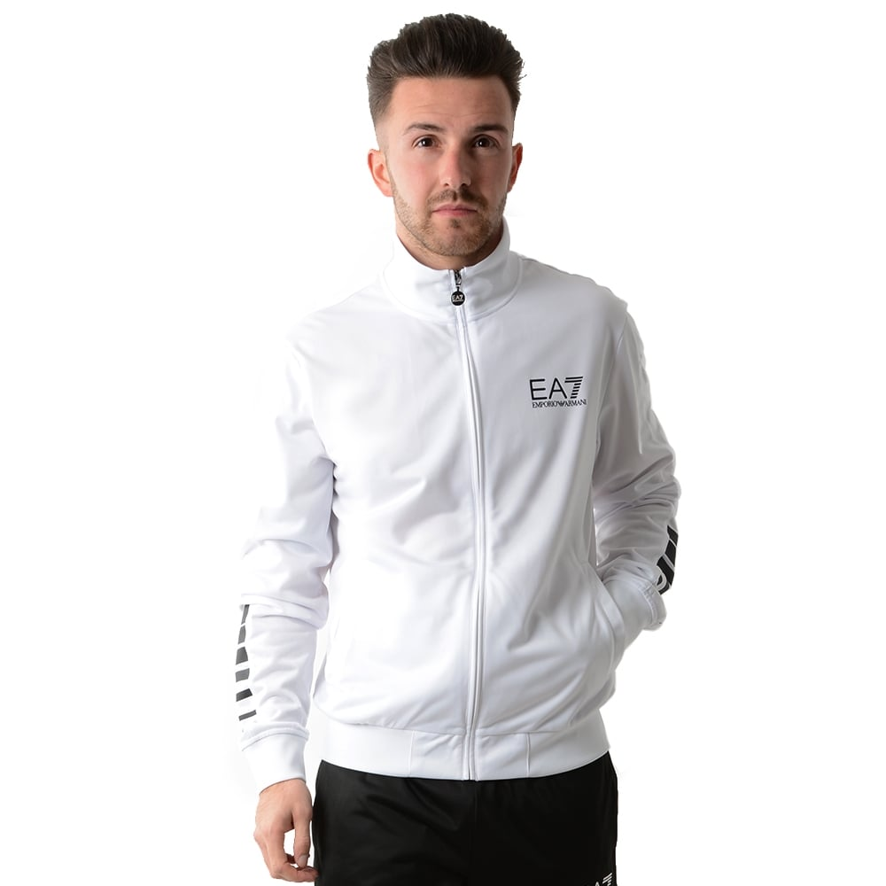 big clearance sale various design 50% price EA7 | Emporio Armani 3YPV59 Track Top Jogger Tracksuit Set - White