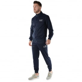 EA7 | Emporio Armani 3ZPV70 Track Top Jogger Tracksuit Set - Navy Blue