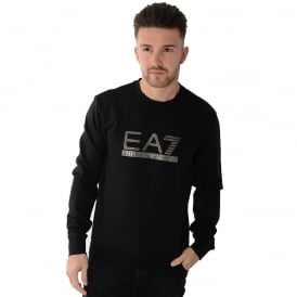 EA7 | Emporio Armani 6XPM97 Sweat Top - Black
