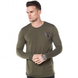 11 Degrees 11D-237 Core Long Sleeve Top - Khaki