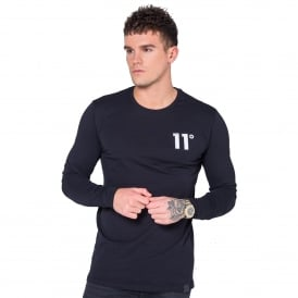 11 Degrees 11D-239 Core Long Sleeve Top - Black