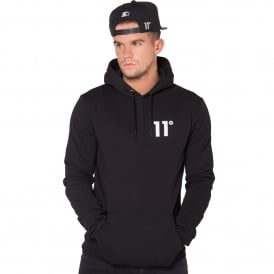 11 Degrees 11D-376 Core Pull Overhead Hoodie - Black