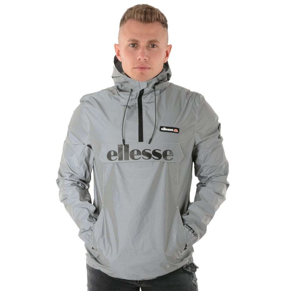 5564b56c0 Ellesse Ellesse Berto 4526 Lightweight Reflect Rain Hood Jacket - Silver