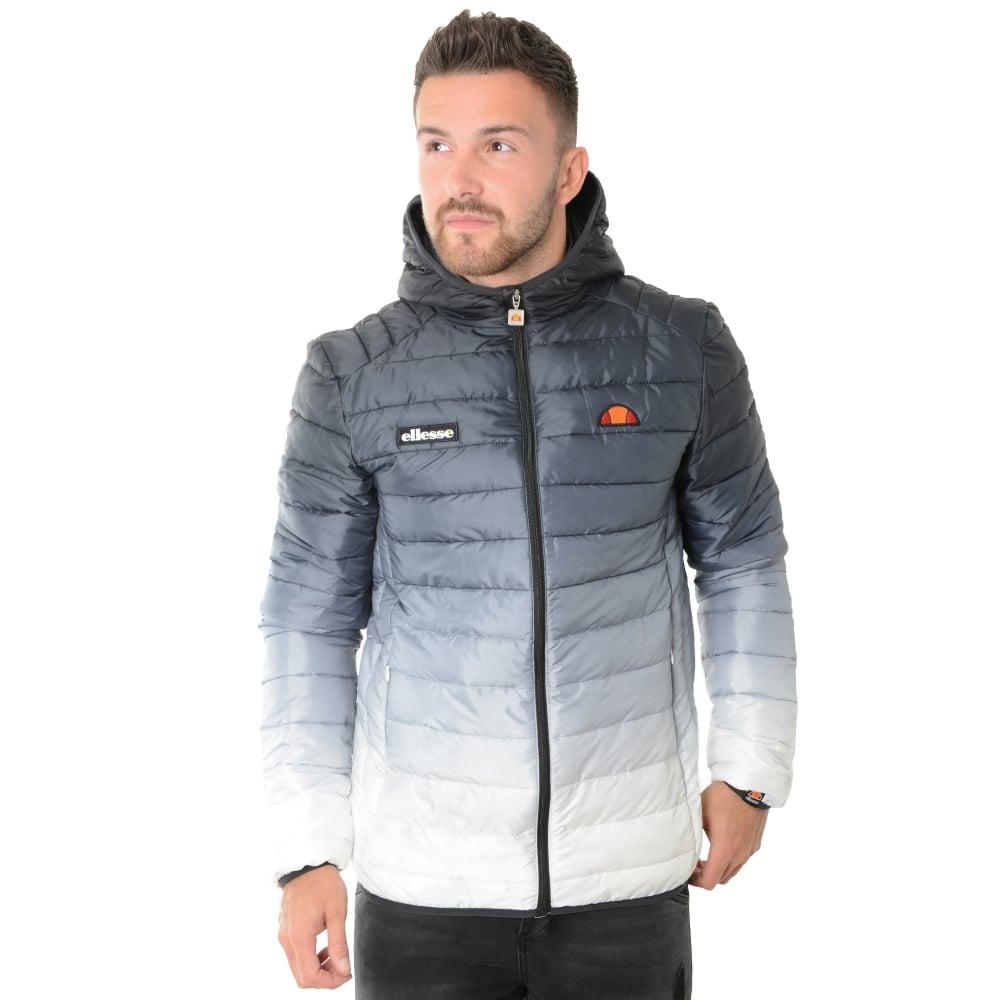 buy ellesse jackets cbmenswear ellesse lombardy fade padded jacket. Black Bedroom Furniture Sets. Home Design Ideas