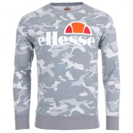 Ellesse Succiso 1148 Camo Sweat Top - Grey