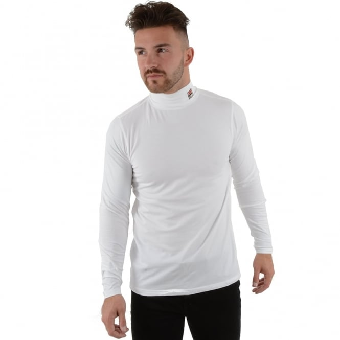 fila long sleeve t shirt. fila 19th roll neck top long sleeve t shirt