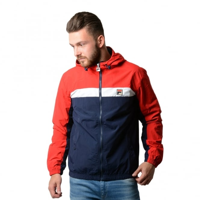 fila coat. fila clipper hooded jacket coat r