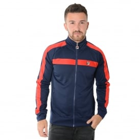 Fila Renzo Tricot GM048 Peacoat Track Top - Navy