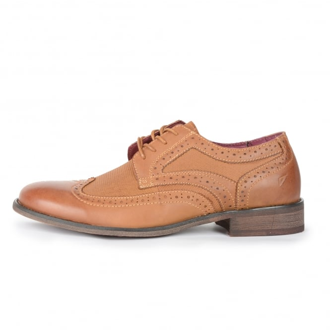 Front Maddox Leather Shoes Brogues