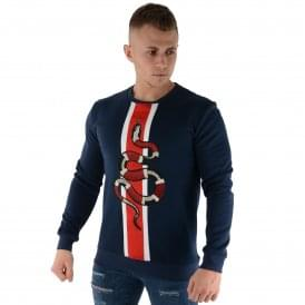 Glorious Gangsta | Alderman Sweat Top - Navy