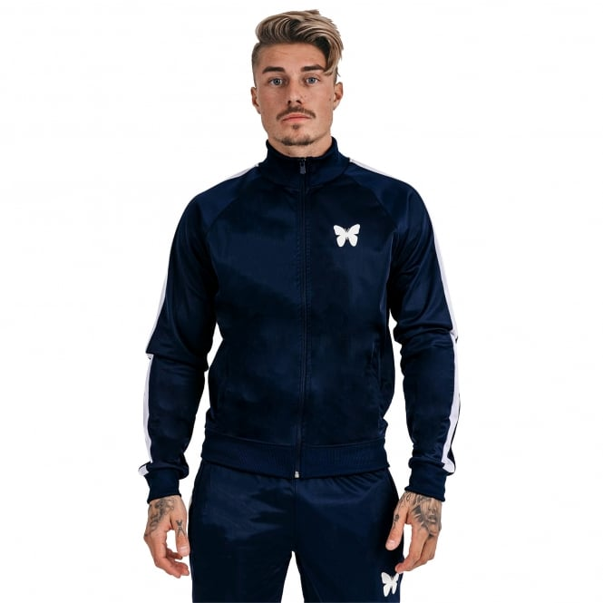 Good For Nothing 8GFN00805 Track Top - Navy/White