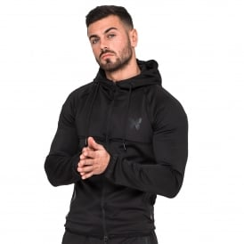 Good For Nothing 9GFN0076 Stealth Hood Track Top - Black