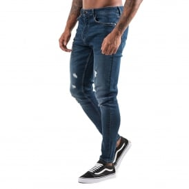 Gym King Distressed Denim Jean