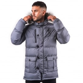 Gym King Fur Parka Jacket