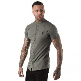 Gym King Grandad Half Sleeve Shirt