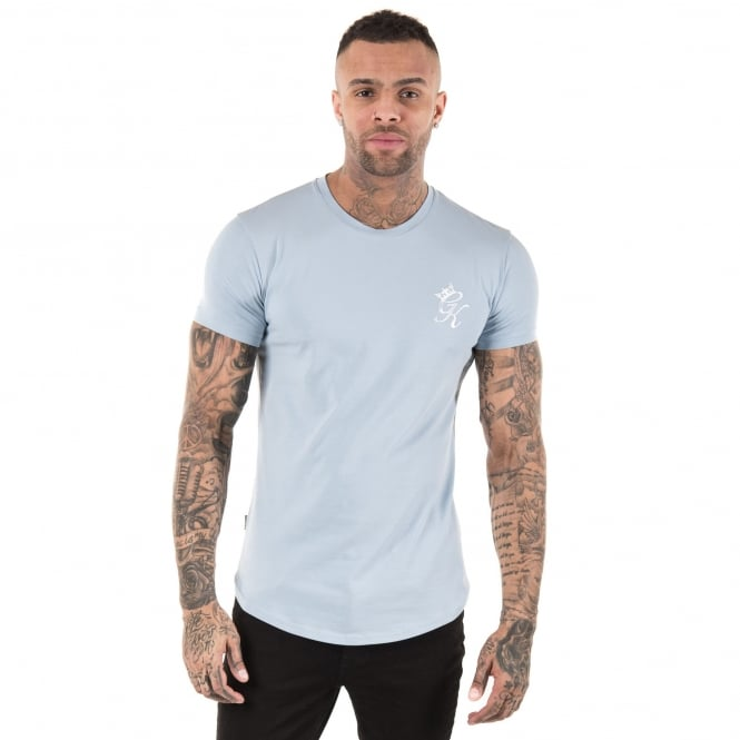 Gym King Long Line Half-Sleeve T-Shirt