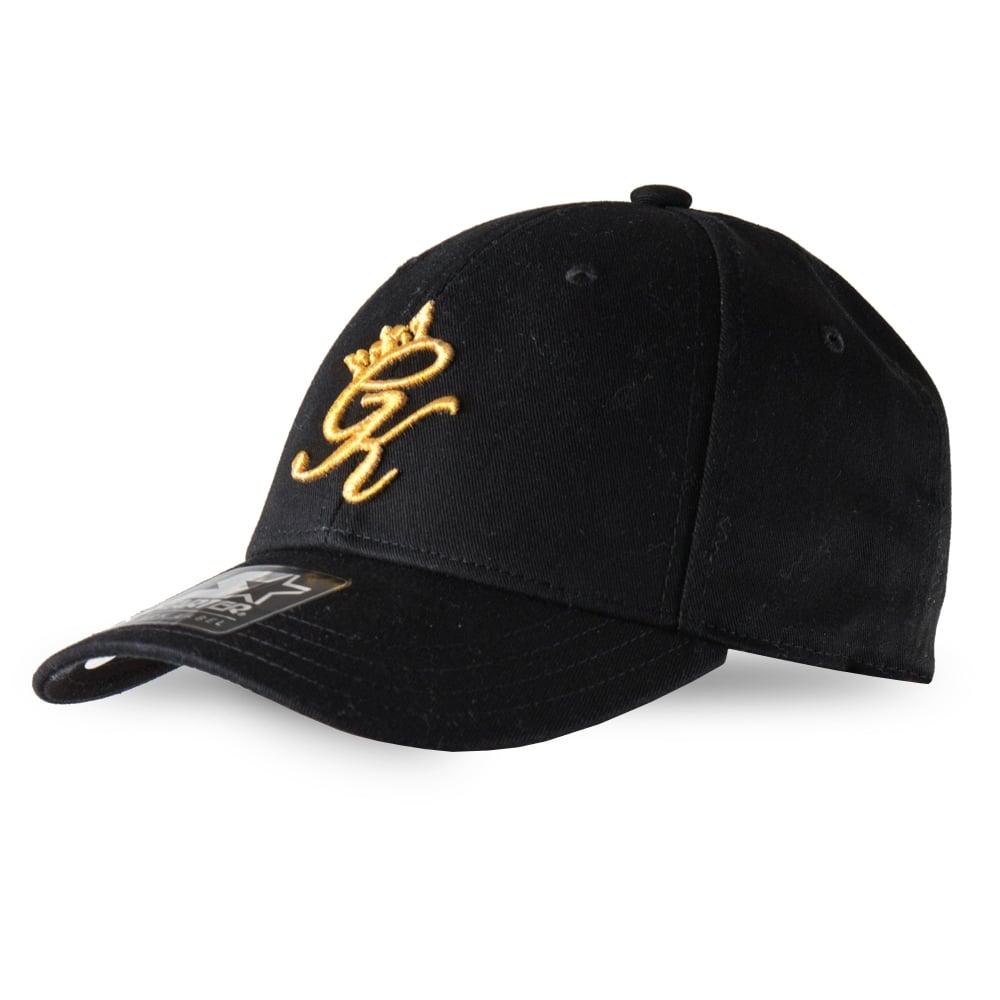 Gym King Pitcher Baseball Cap - Black Gold 05c6051e10c