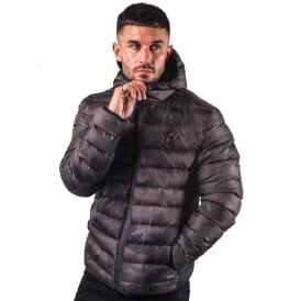 Gym King Puffa Jacket - Camo