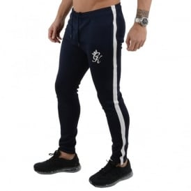 Gym King Tapered Poly Nylon Tracksuit Joggers