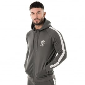 Gym King Tapered Poly Nylon Tracksuit Top