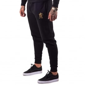 Gym King Track Jogger - Black/Gold