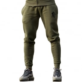 Gym King Track Joggers - Burnt Olive