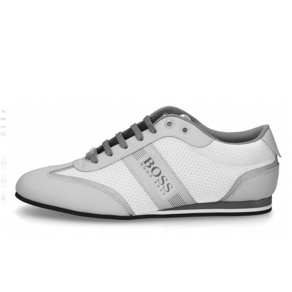 06abc65ef7 Hugo Boss | 50370438 Low-Profile Lighter_Lowp_Mxme Trainers - Off White