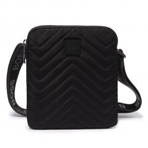 Sik Silk  SS-14135 Logo Pouch Backpack Black
