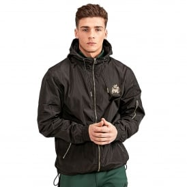Kings Will Dream | KWD Barnard Windbreaker Lightweight Jacket - Black