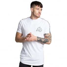 Kings Will Dream | KWD Kione Reflect 338 Half Sleeve T-Shirt - White