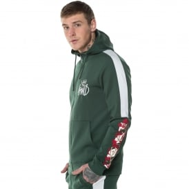 Kings Will Dream | KWD Montross Poly Hood Track Top - Green