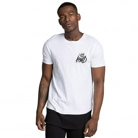 Kings Will Dream | KWD Pembrook 444 Digital Panel T-Shirt - White