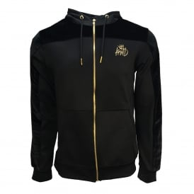Kings Will Dream | KWD Searles VLR Poly Hood Track Top - Black