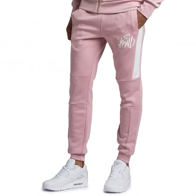 Kings Will Dream | Leoni Poly Cuffed Jogger - Rusty Pink