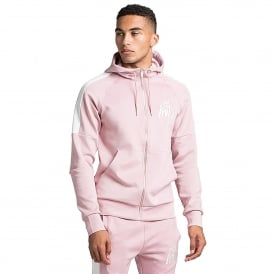 Kings Will Dream | Leoni Poly Zip Through Track Top - Rusty Pink