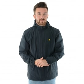 Lyle & Scott | JK464V Zip Through Hooded Jacket - Navy